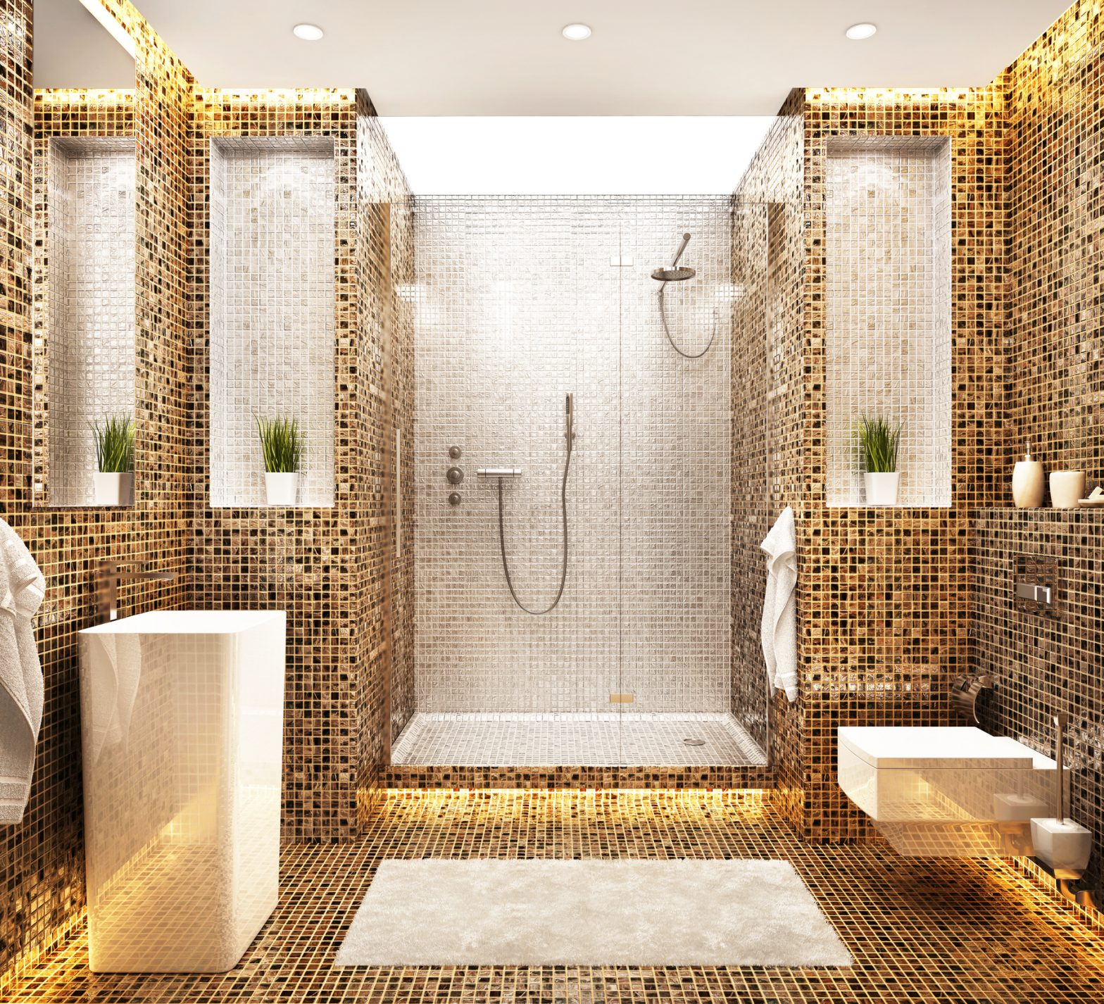Remodeled Modern Bathroom